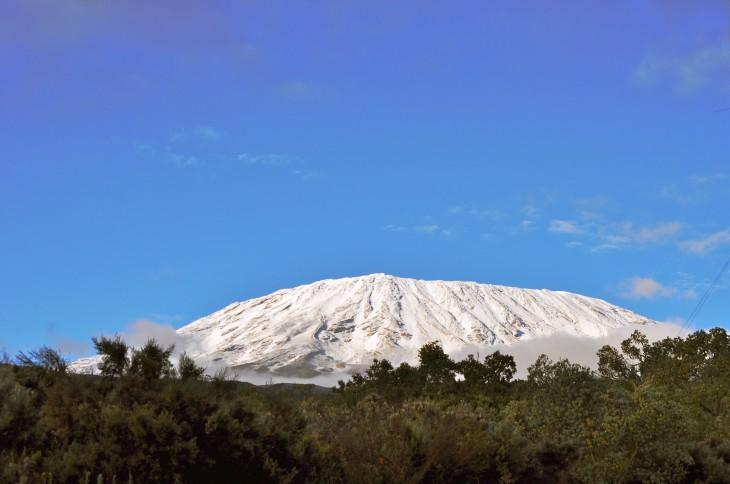 Fantastisk utsikt fra Simba camp 02.10.11